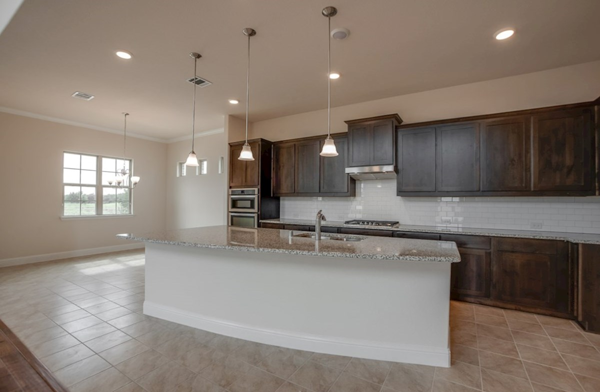 Brazos quick move-in kitchen with breakfast nook