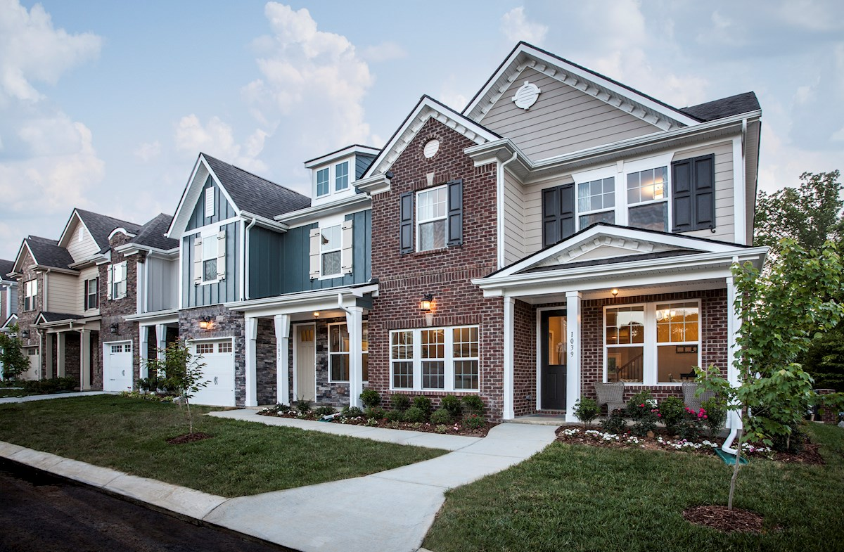 Nichols vale beazer homes for Brick and stone elevations