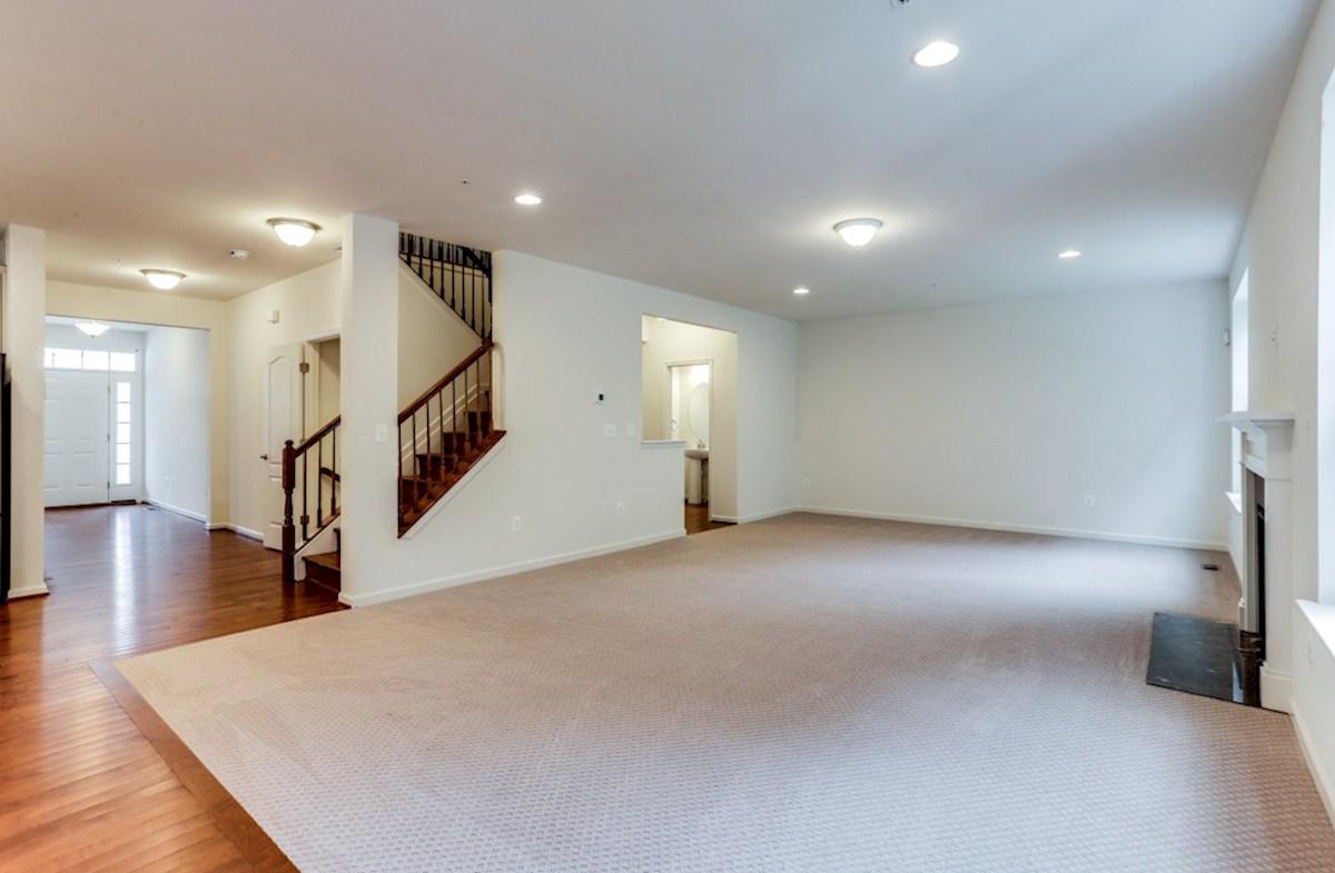 The Preserve at Windlass Run - Single Family Homes Pembrooke Pembrooke Great Room