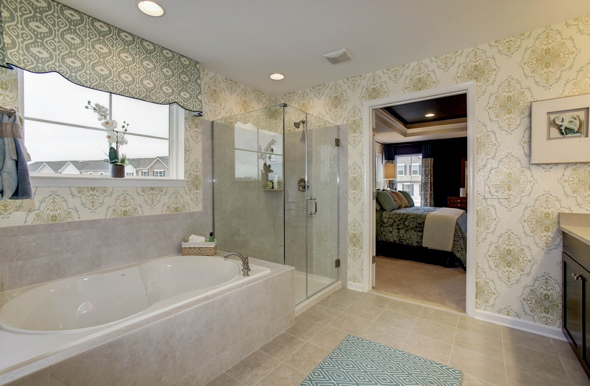 Summerfield Oxford luxury master bathroom