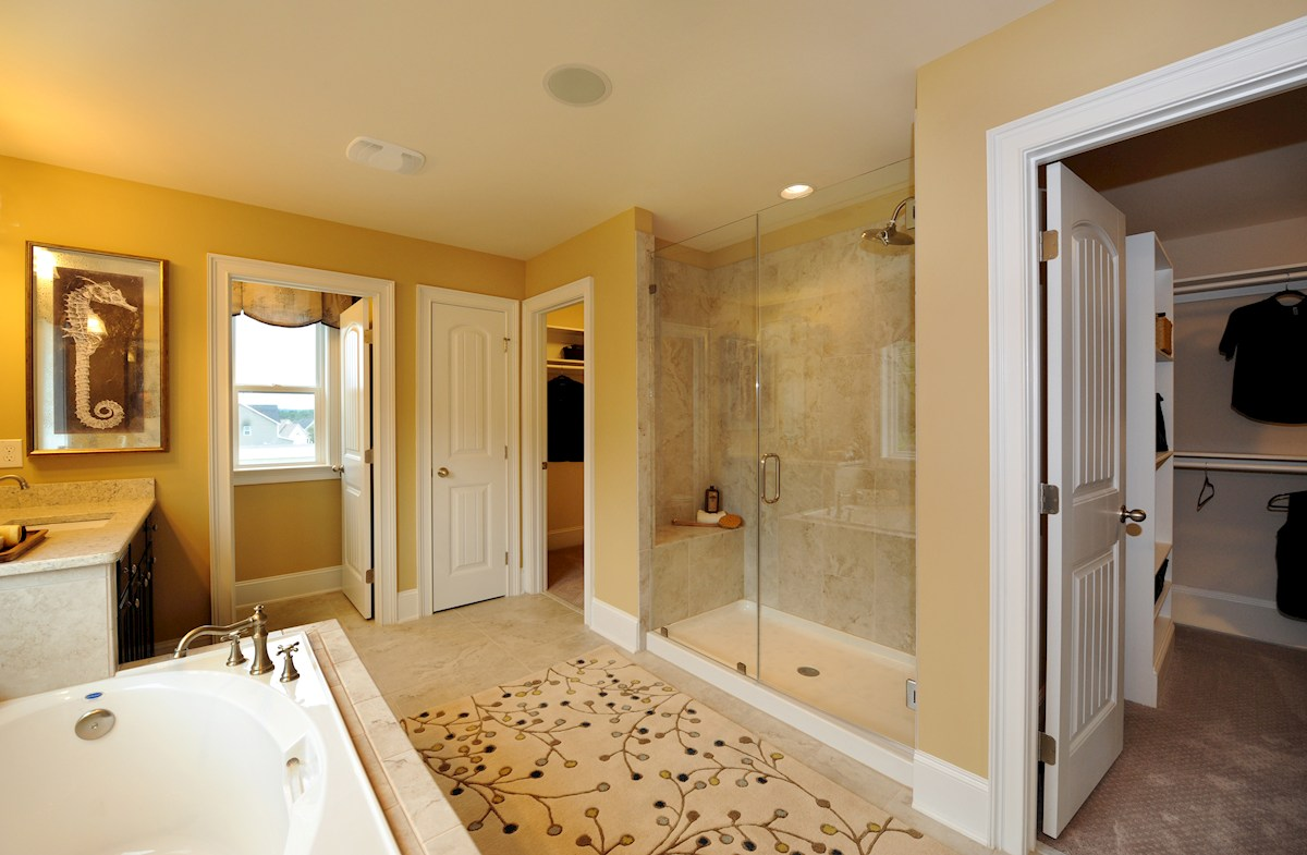 Avocet Belmont large master bath