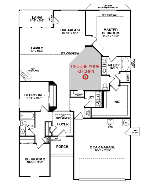 Beazer floor plans south carolina floor matttroy for Beazer homes floor plans