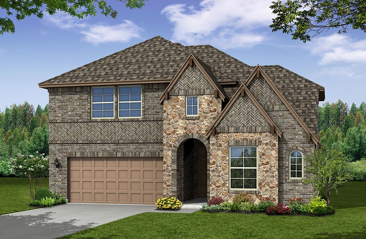 Summerfield Home Plan In Trinity Parks Euless Tx Beazer Homes