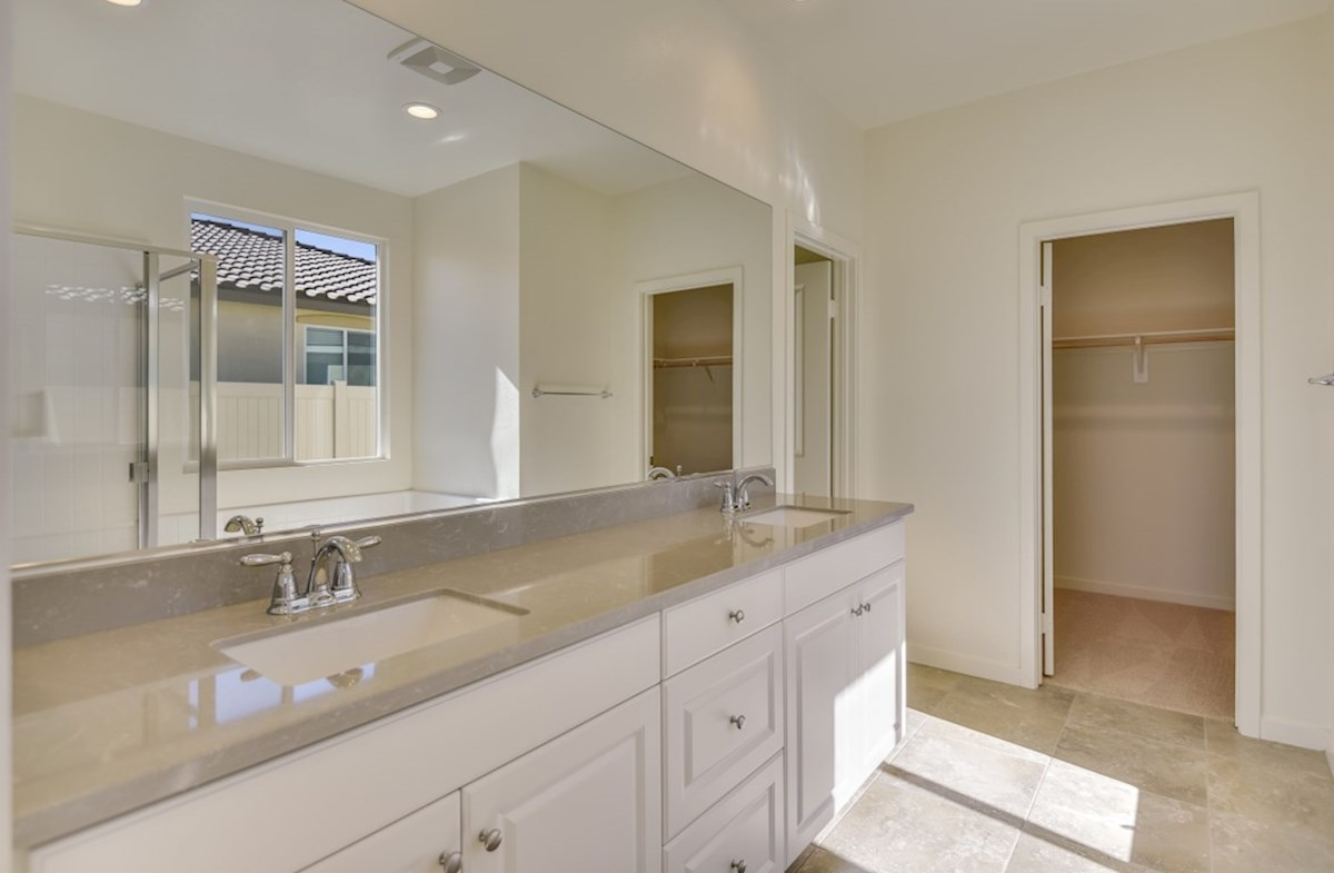 Poppy quick move-in Separate vanities give you more space and privacy