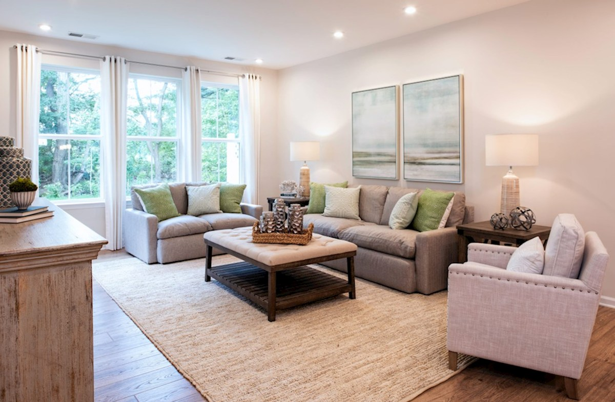 Bishop's Landing Canby Canby great room provides plenty of natural light with large windows