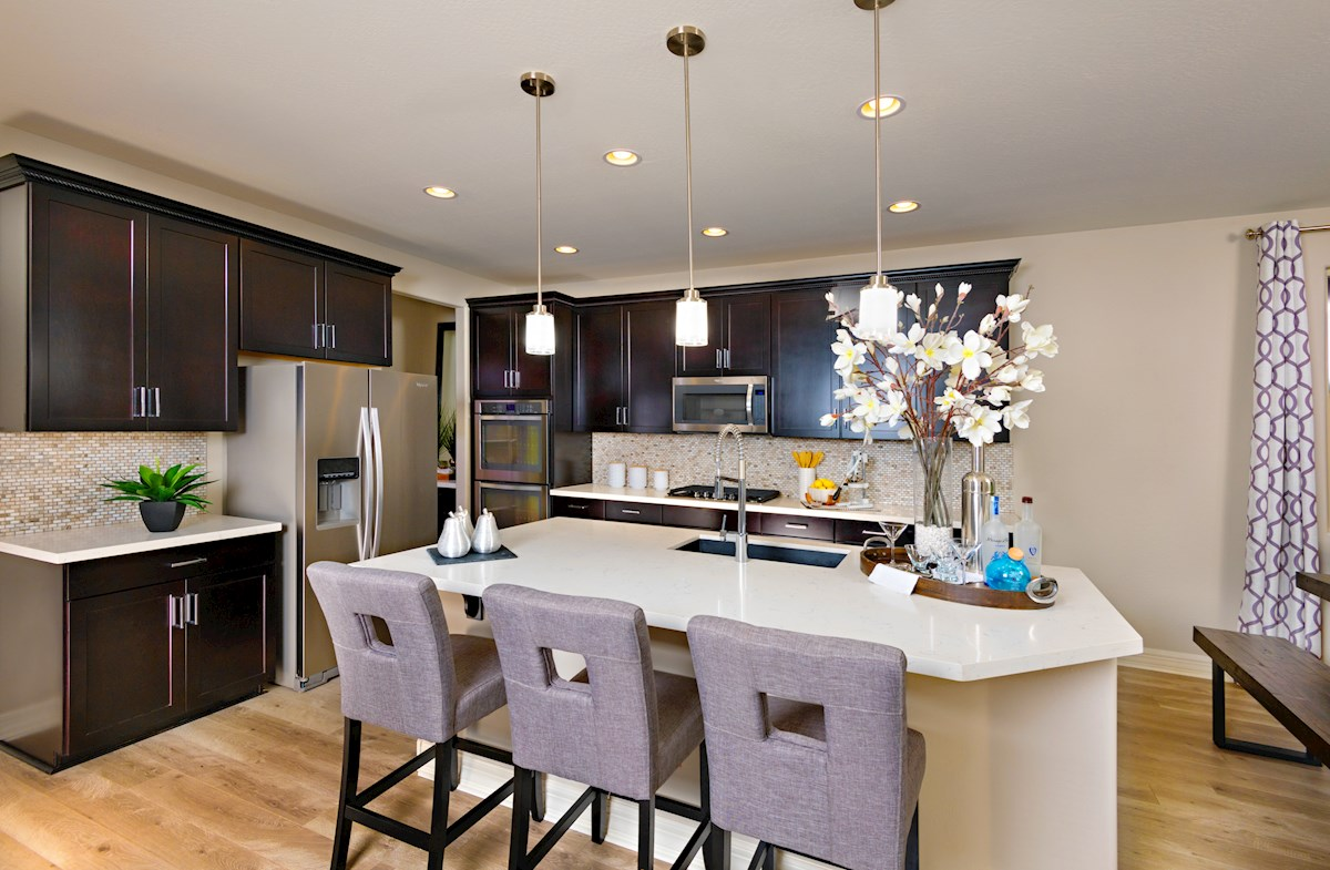 Alessandria at Windrose Rockwell open kitchen layout