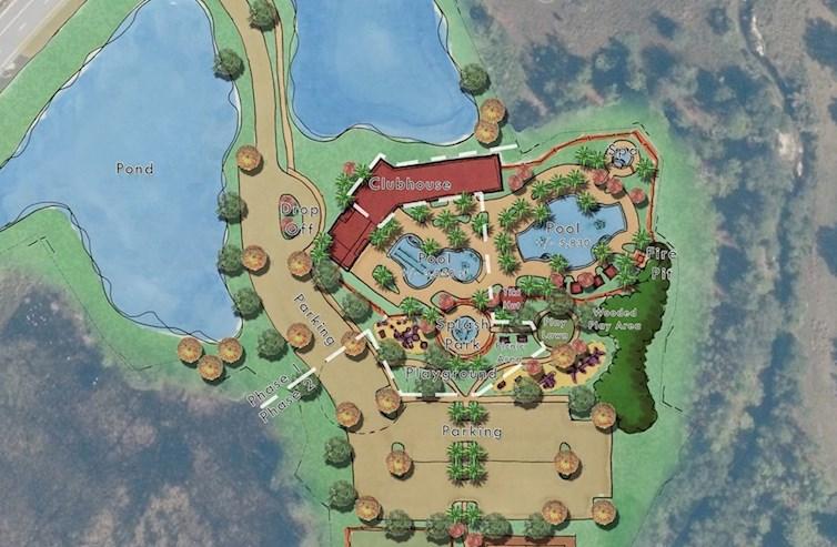 Phase II amenity expanision plan