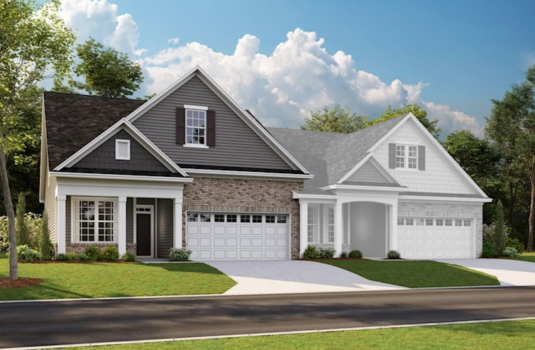 Tuscany Elevation Traditional TRM quick move-in