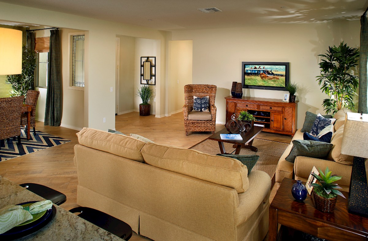 The Legacy Collection Plan 2 comfortable great room