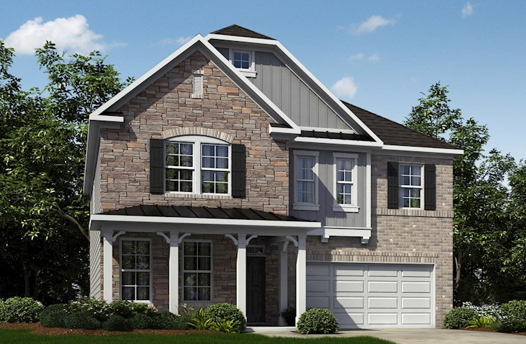Ashford Plan French Country L Exterior