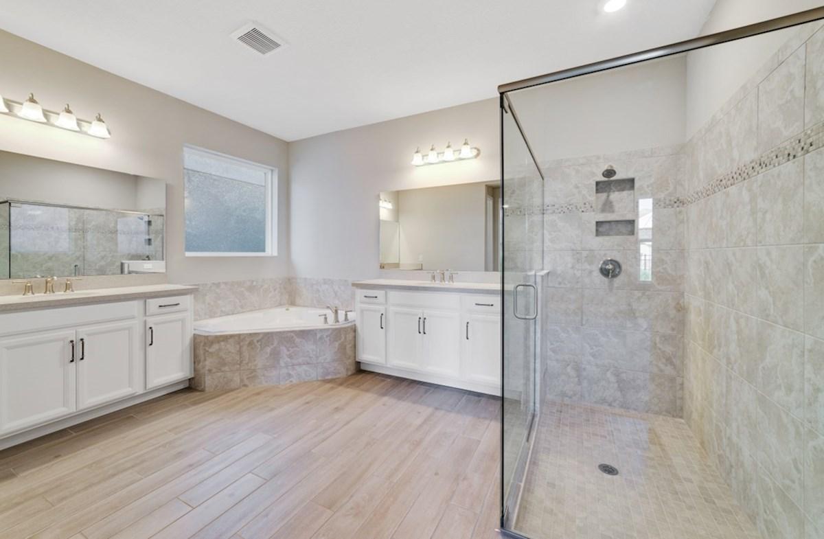 Belle Vie Willow blissful master bathroom