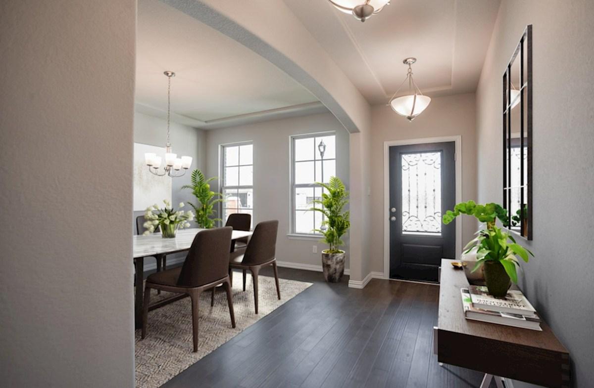 Prescott quick move-in Prescott spacious foyer and formal dining room