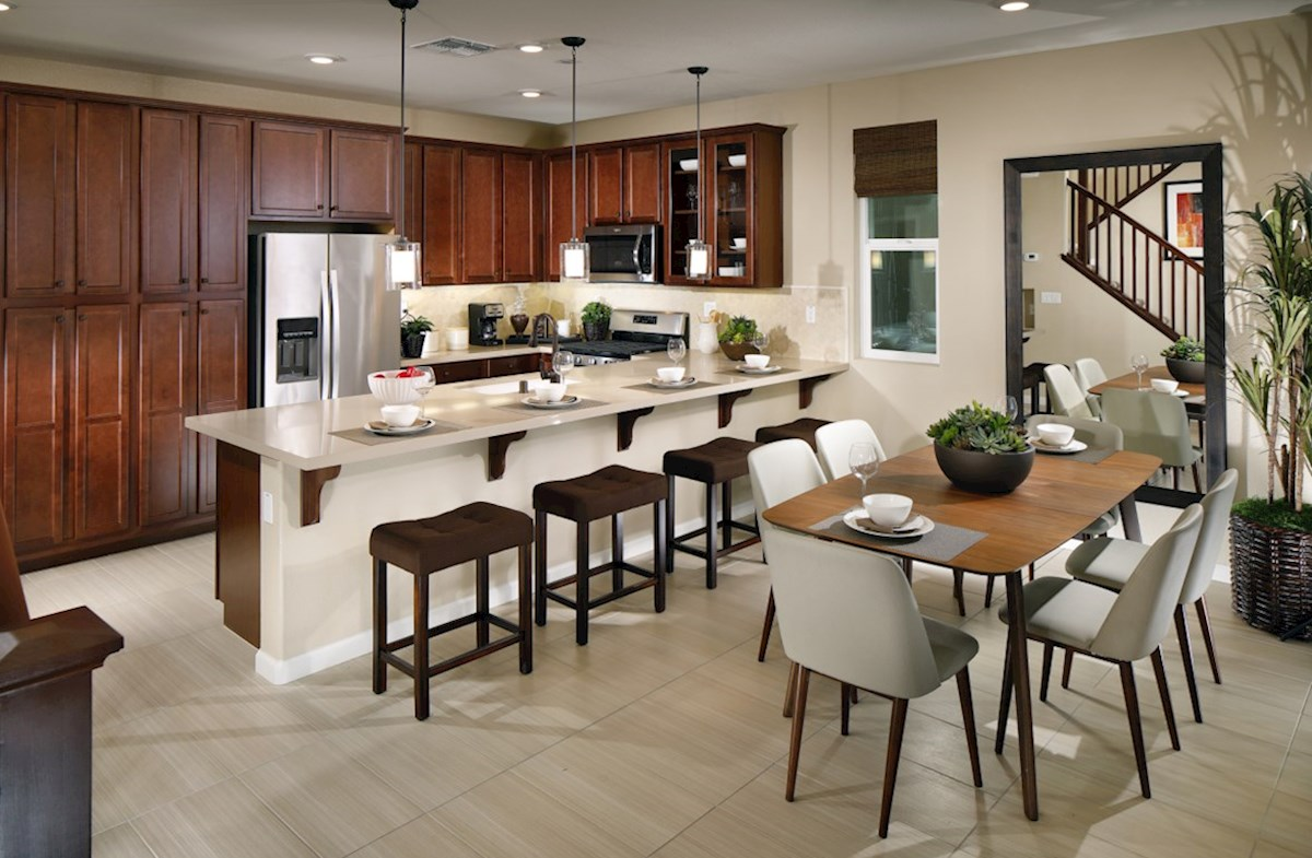Natomas Field Weston Weston dining and kitchen