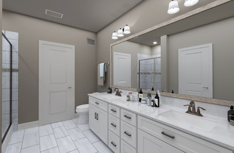 Sherwood Sherwood Modern Bohemia Primary Bathroom Design Selections