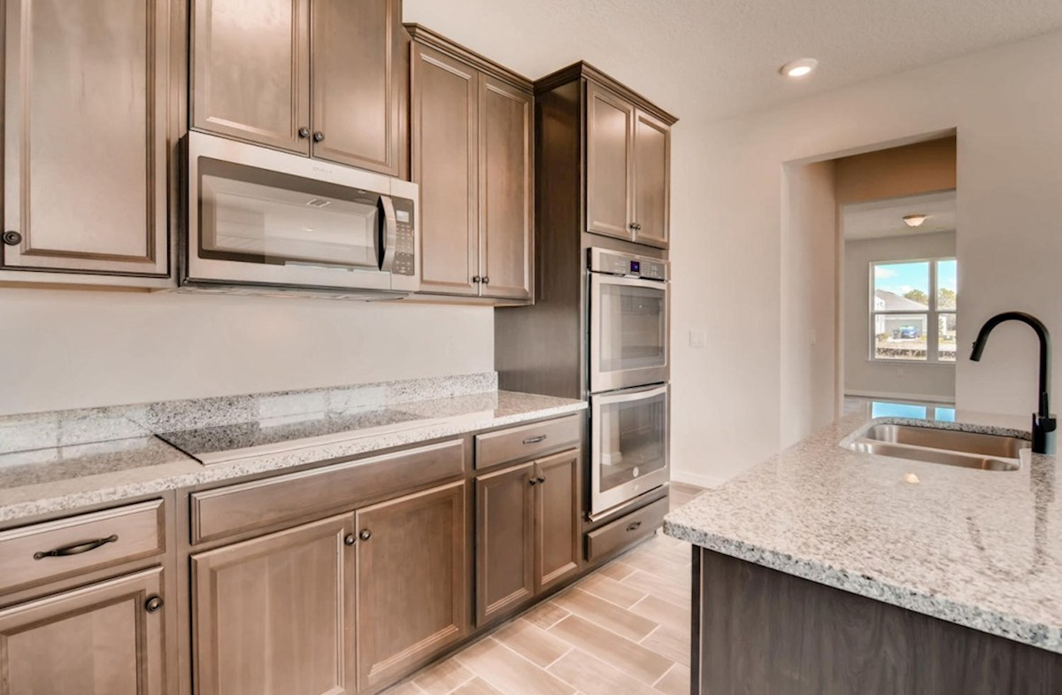 Captiva quick move-in Gourmet kitchen with double oven and glass cook top