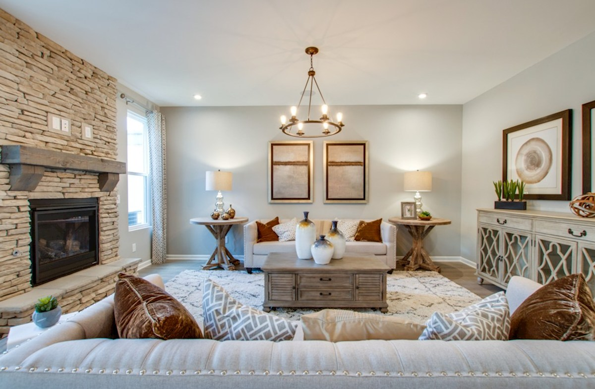 Spring Creek Garner inviting great room