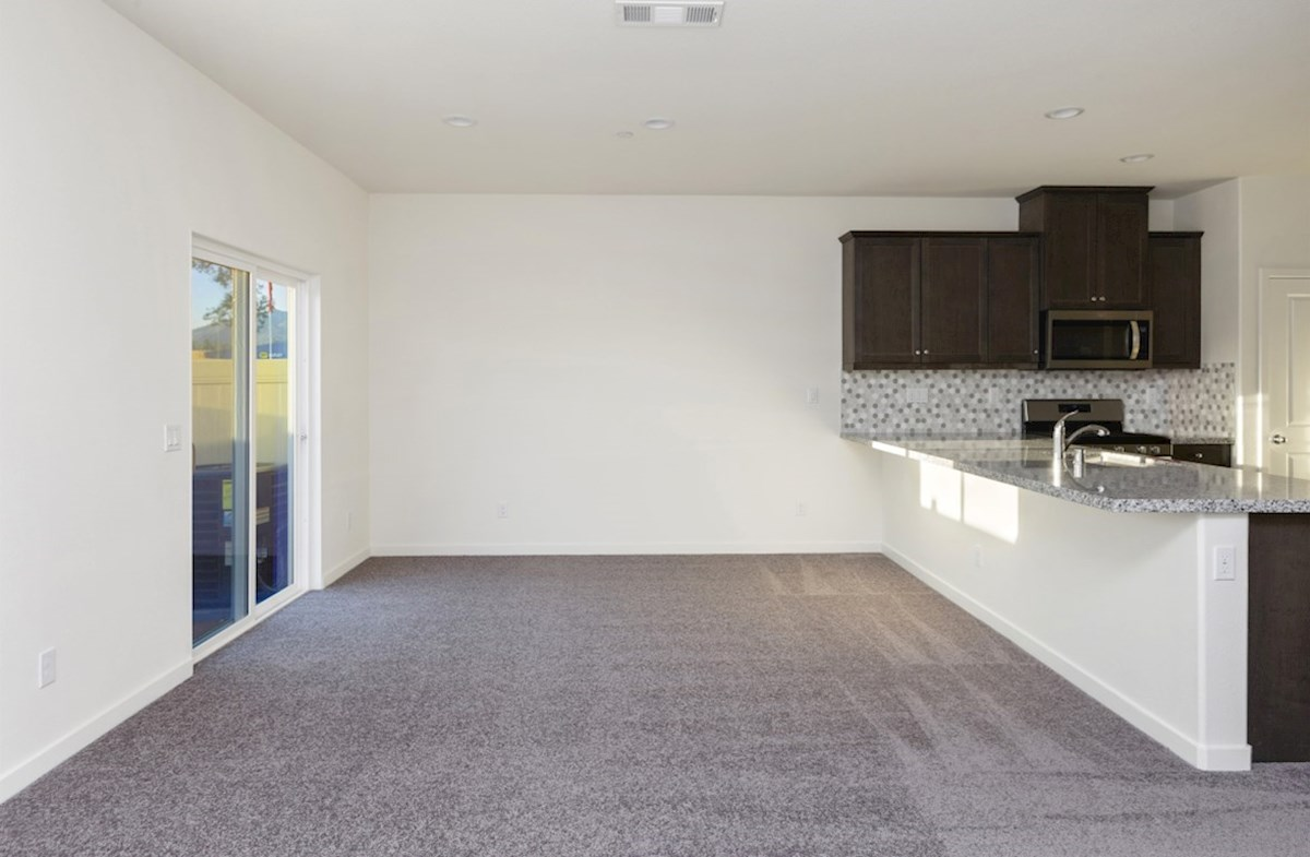 Hudson quick move-in enjoy casual dining in open-concept kitchen