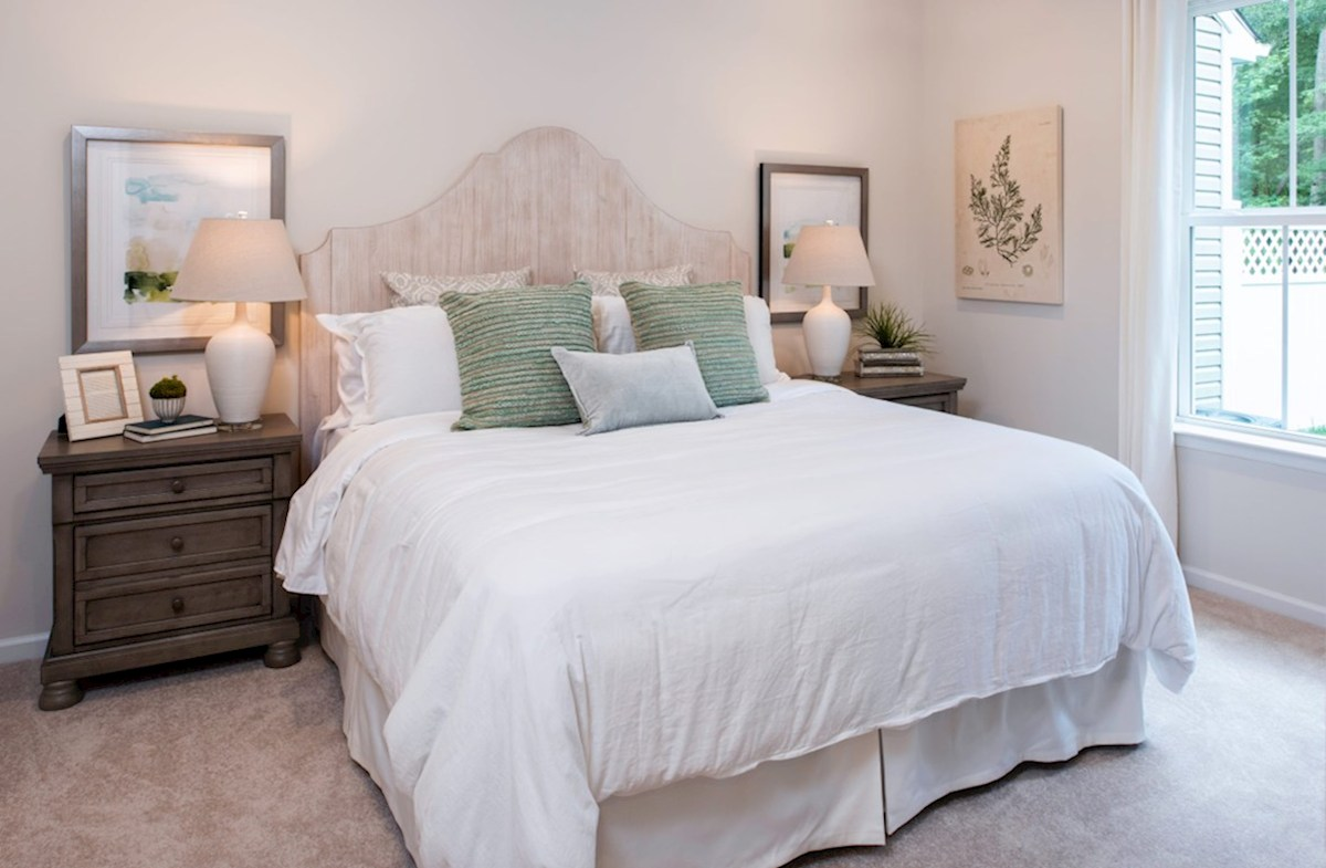 Bishop's Landing Canby Canby master suite is located on the 1st floor