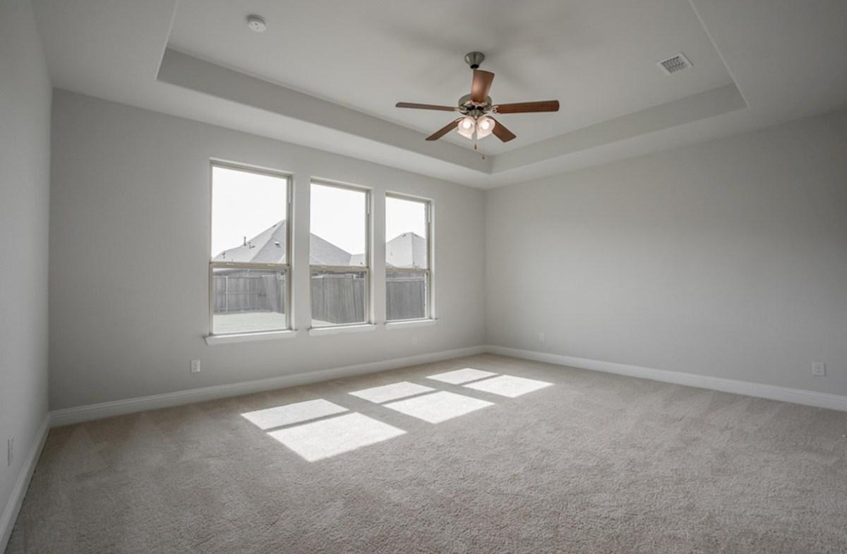 Blackburn quick move-in Blackburn master bedroom with tray ceiling
