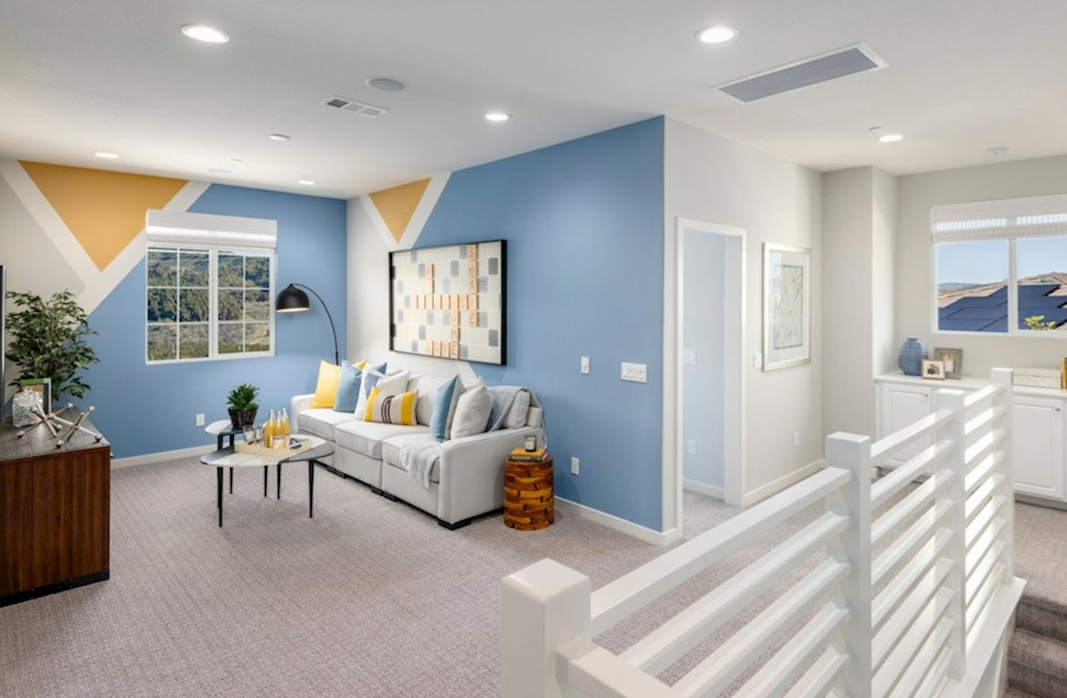 The Glen at Summerly Reserve The loft provides additional space needed for family entertainment