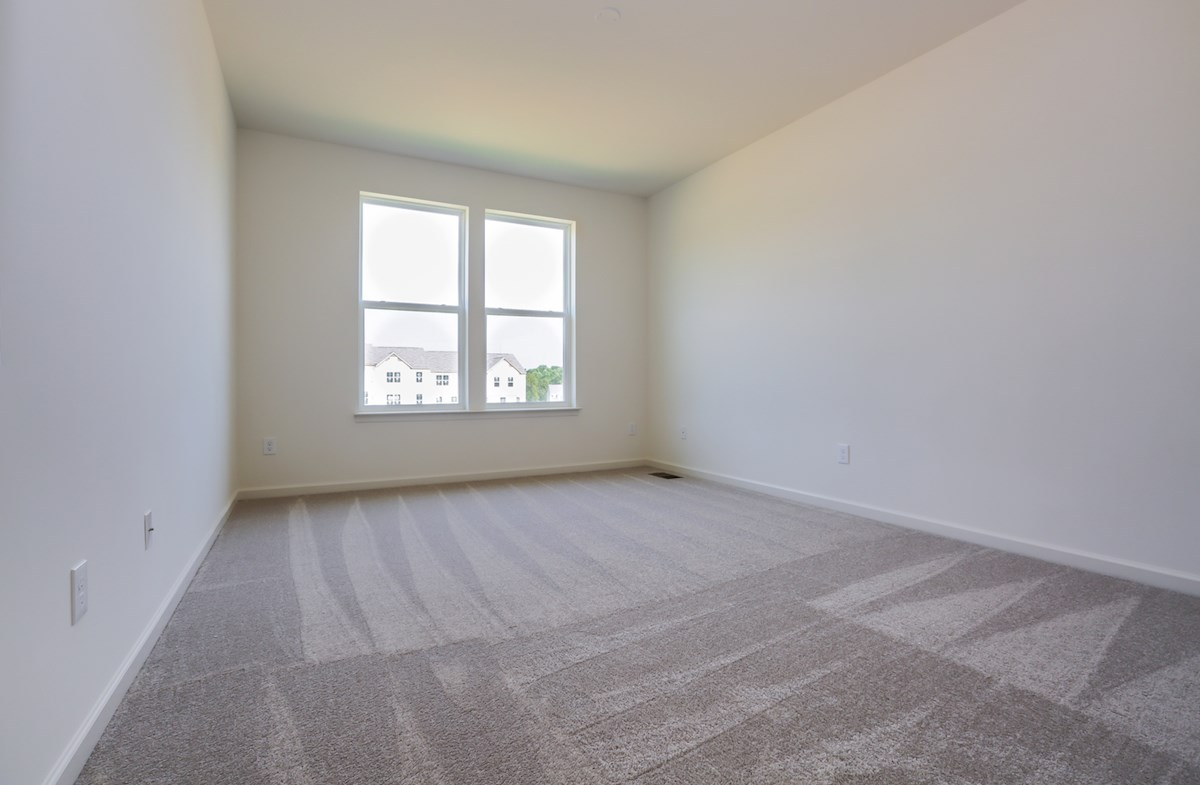 Franklin quick move-in carpeted master bedroom