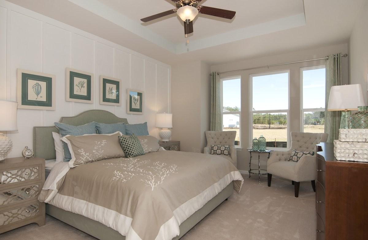 Bella Vita Gardens Wisteria elegant master bedroom