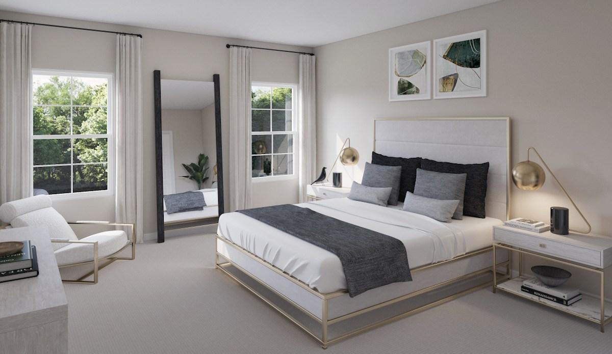 Hampton Place Montouk Mantouk master bedroom