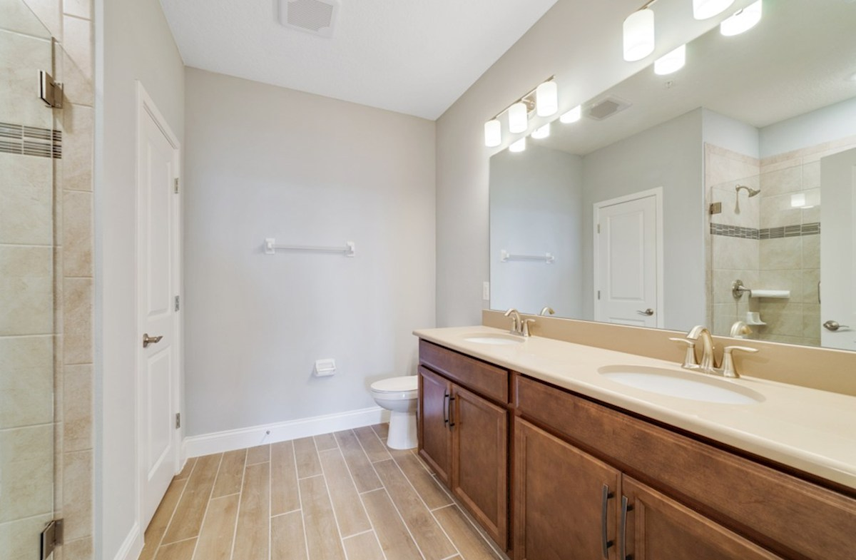 Aspen with Study quick move-in tranquil master bathroom
