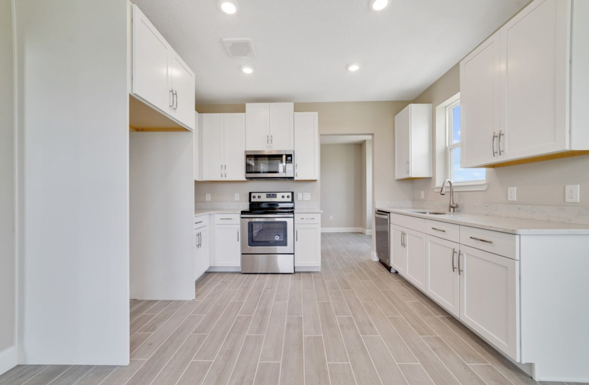 Chestnut quick move-in chef-inspired kitchen