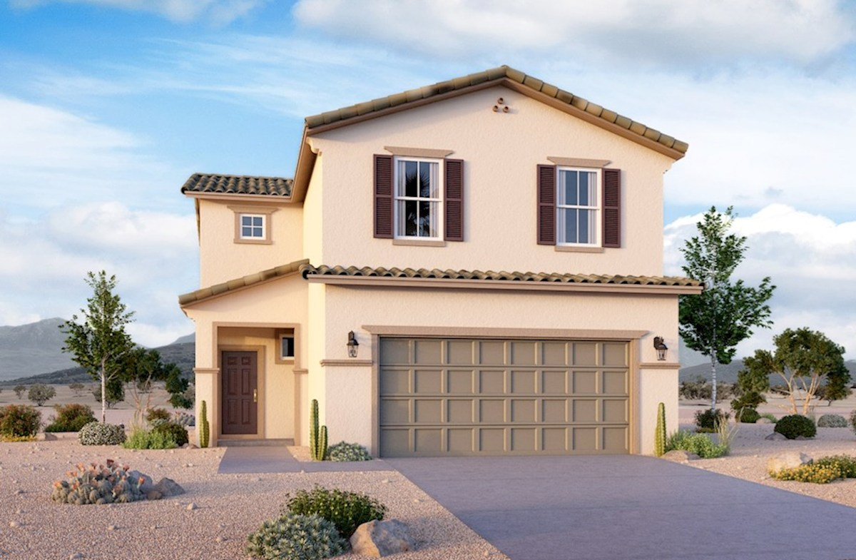 987edee68 Juniper Home Plan in Hamilton Place, Las Vegas, NV | Beazer Homes ...