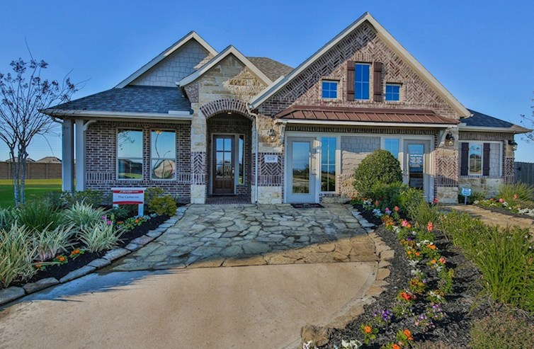 Cameron III Elevation French Country M quick move-in