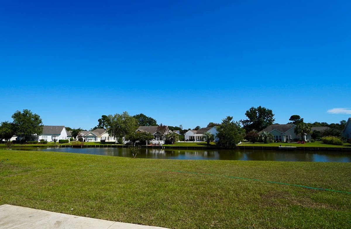 Graham quick move-in backyard features waterviews