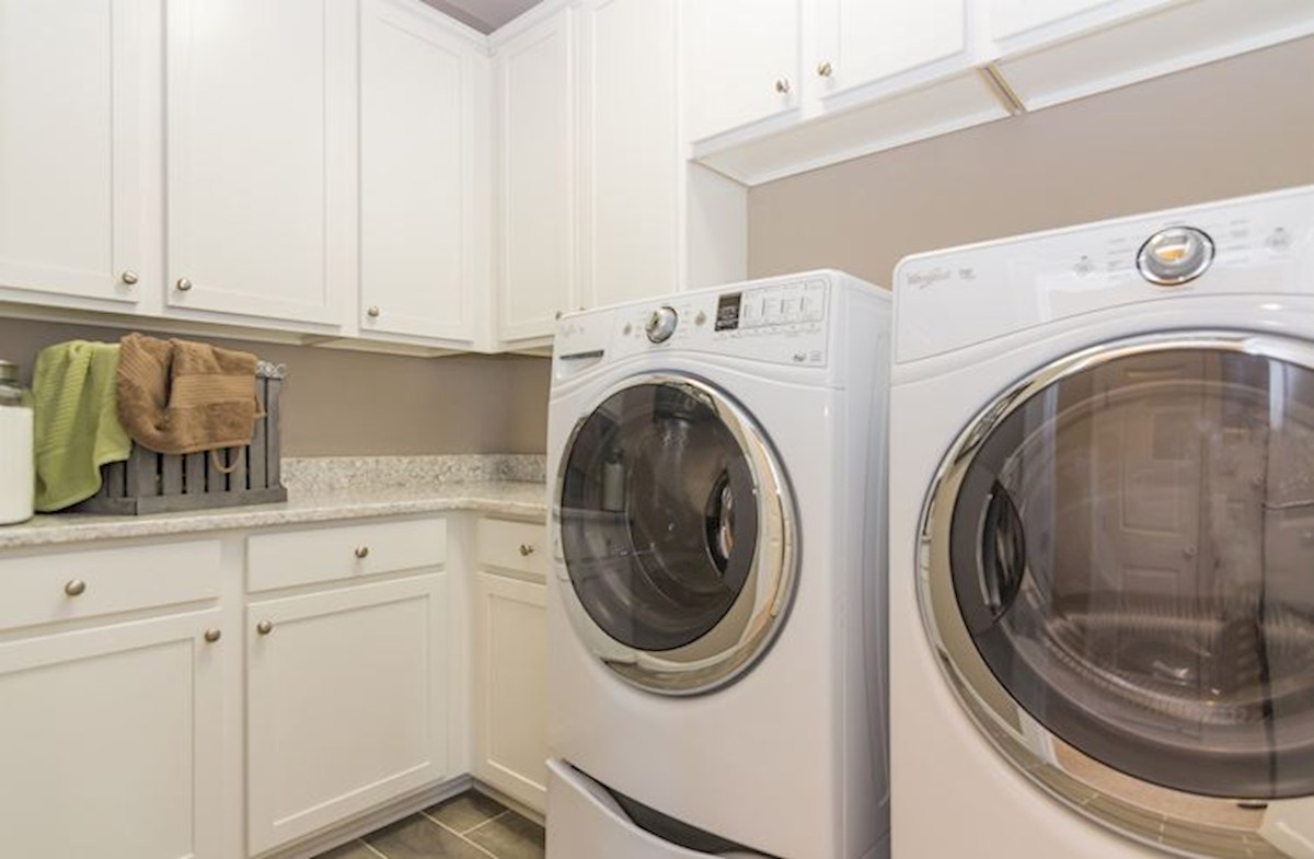 Cypress Meadow Oakwood Laundry room