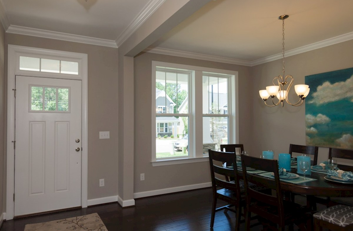 Hillwood Concord dining room with double windows