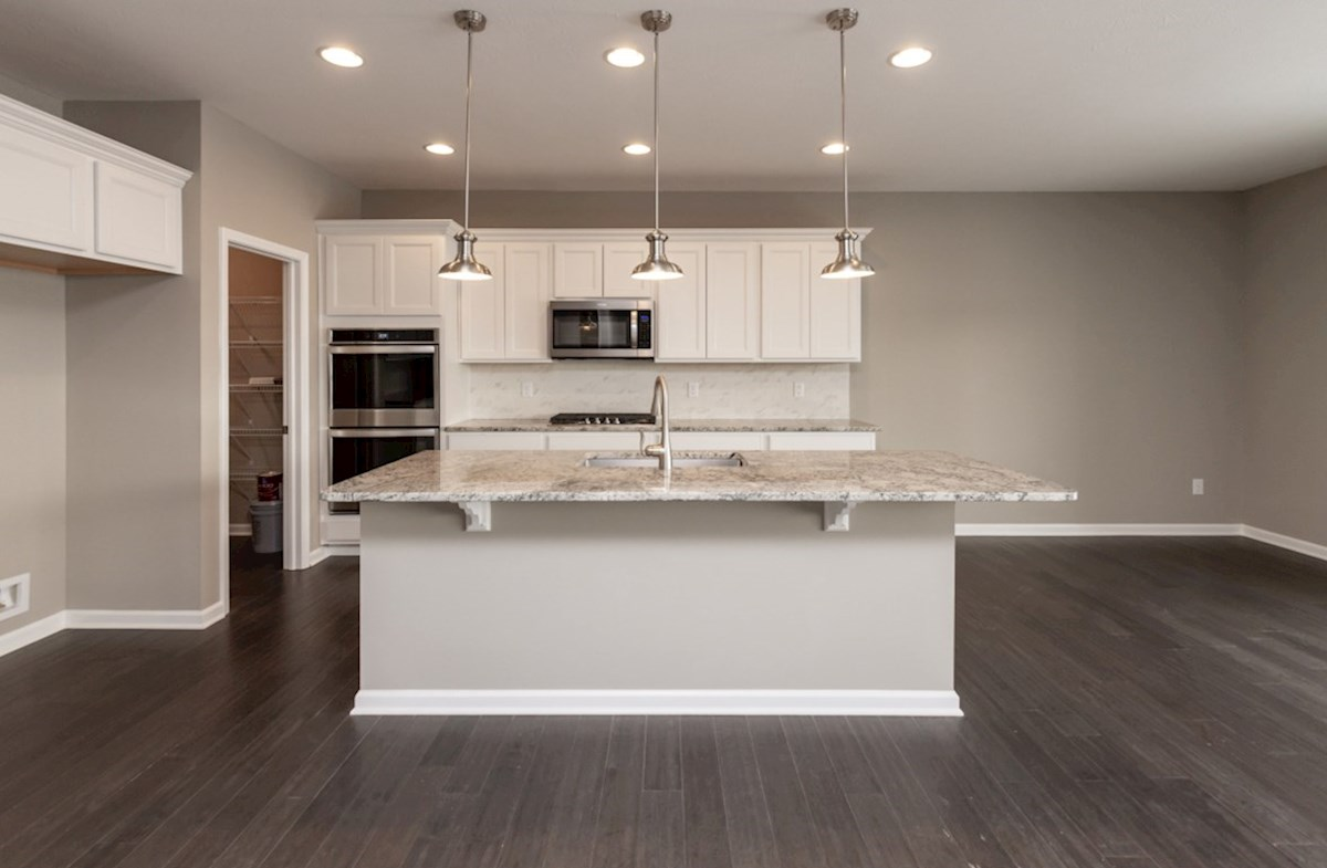 Shelby quick move-in gourmet kitchen with double ovens
