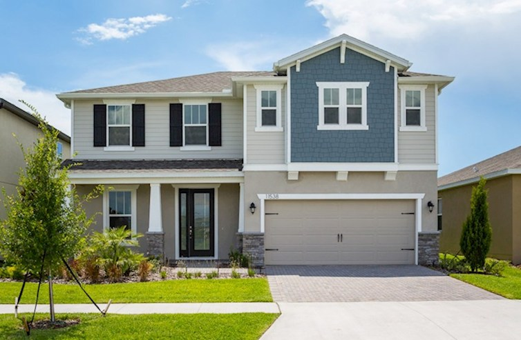Sand Dollar Elevation Arts & Crafts L quick move-in
