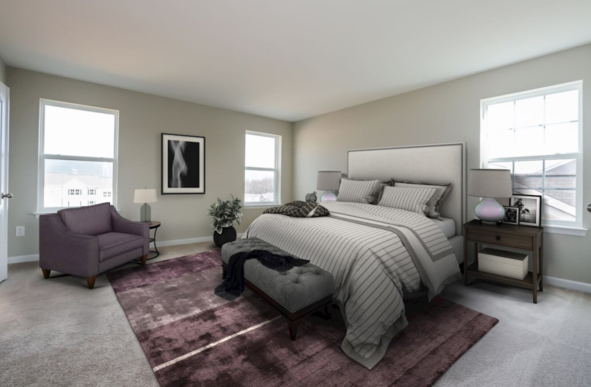 Notting Hill quick move-in spacious bedroom