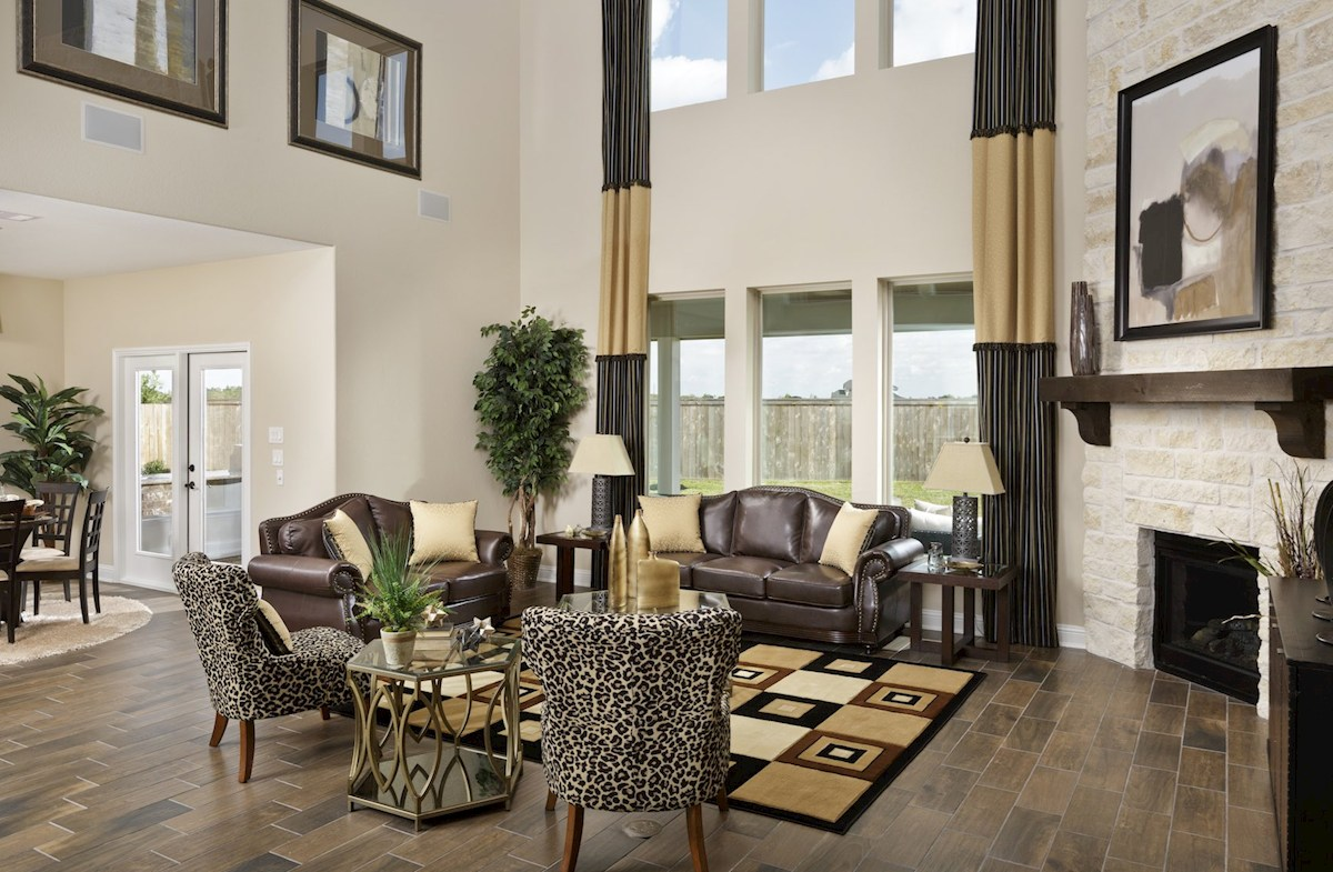 Wildwood at Oakcrest Lockhart cozy great room