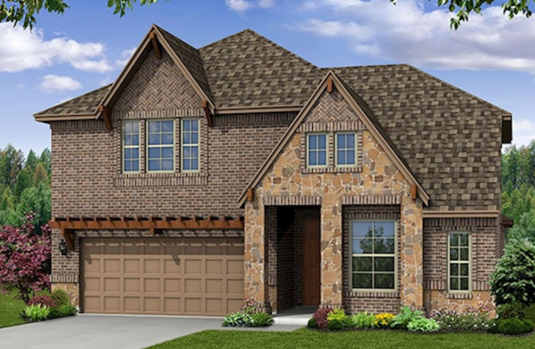 Summerfield Elevation French Country L