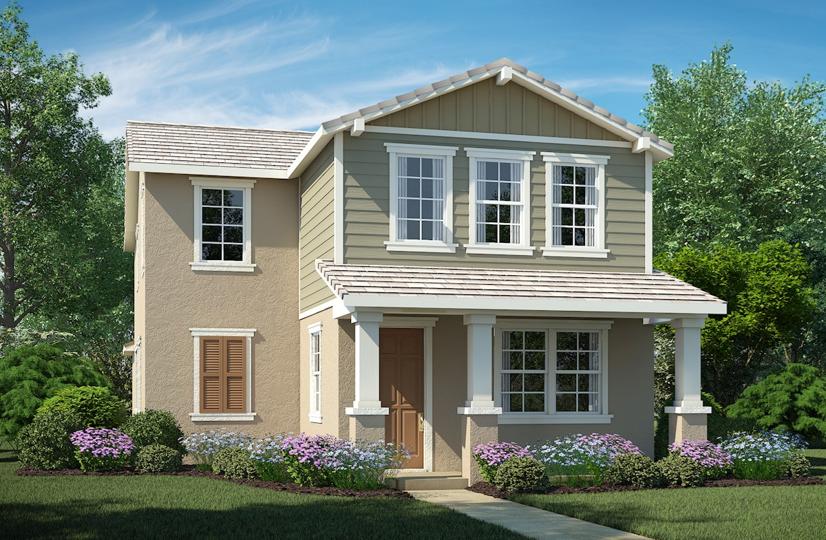 Residence 2 Elevation Traditional A