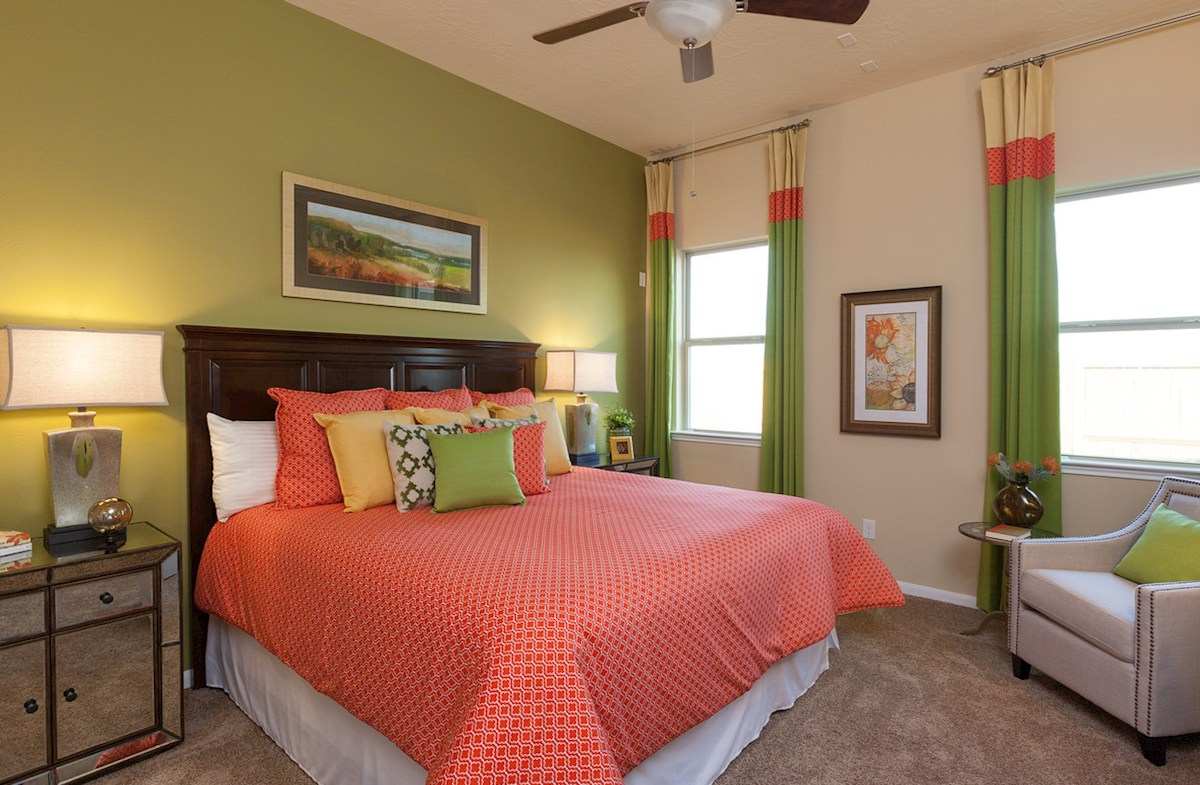 King Crossing Matagorda II private master bedroom