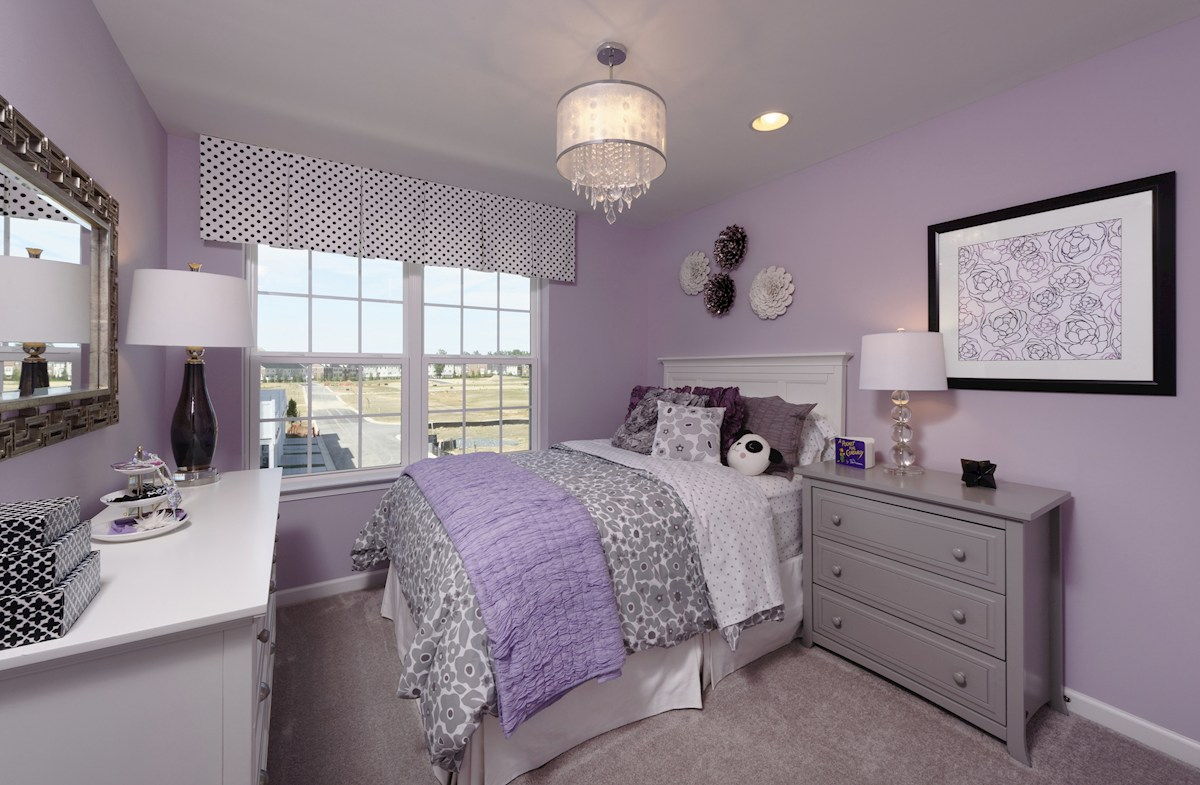 The Preserve at Windlass Run Townhomes  Frederick Secondary Bedroom in the Frederick