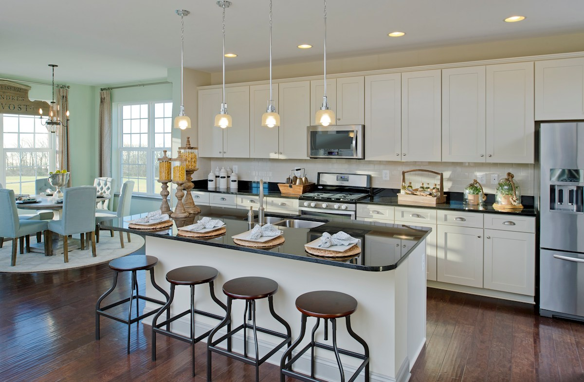 Enclave at River Hill Pembrooke Kitchen provides well appointed fixtures