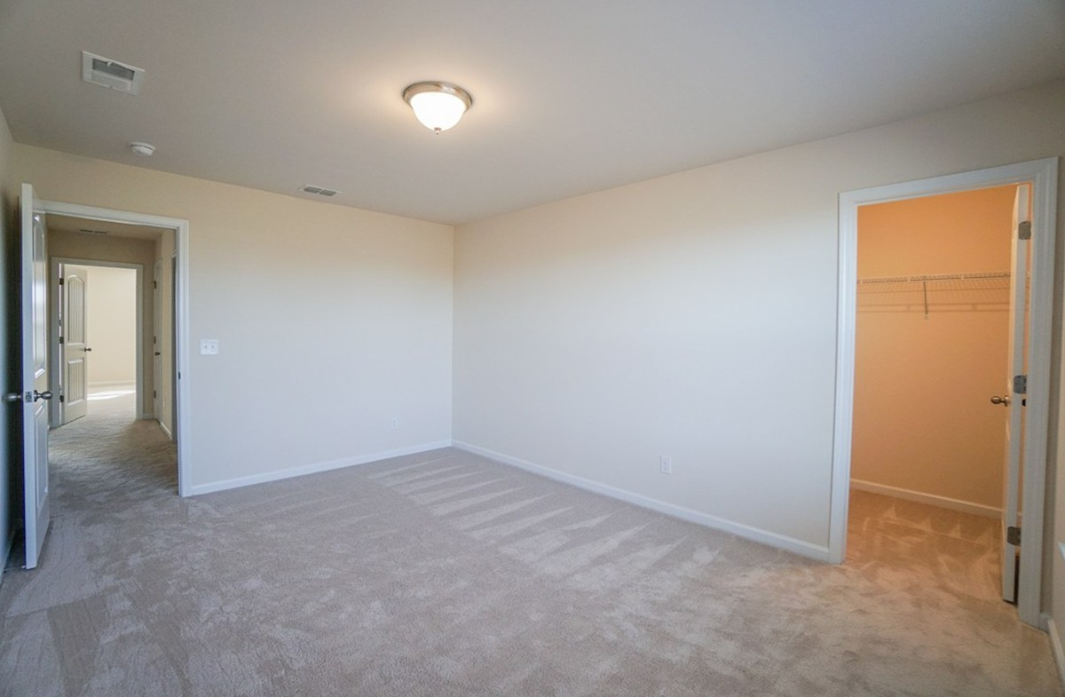 Ivey quick move-in second bedroom is spacious with a walk-in closet