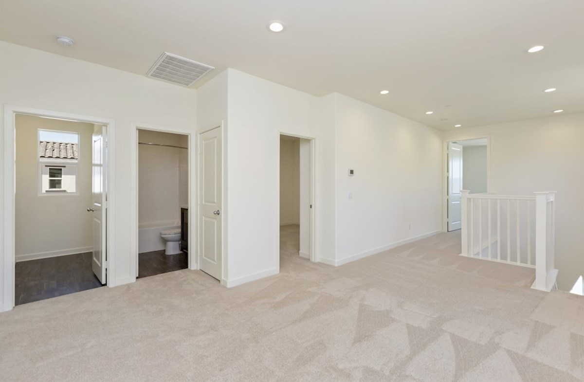 Suncup quick move-in The loft provides additional space needed for family entertainment.