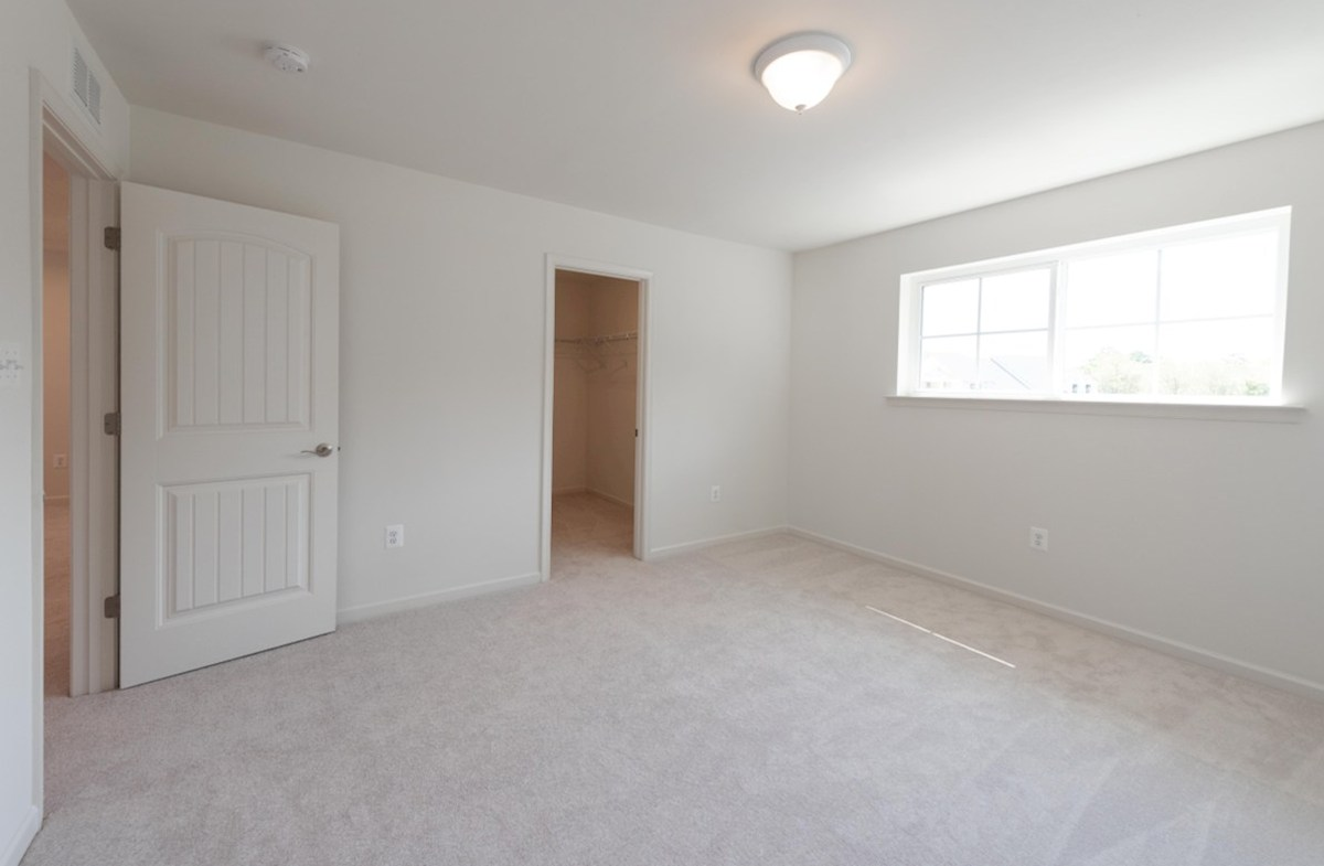 Dover quick move-in Dover master suite with carpet