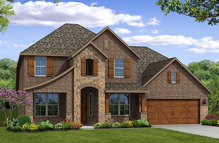 Lockhart Elevation French Country L