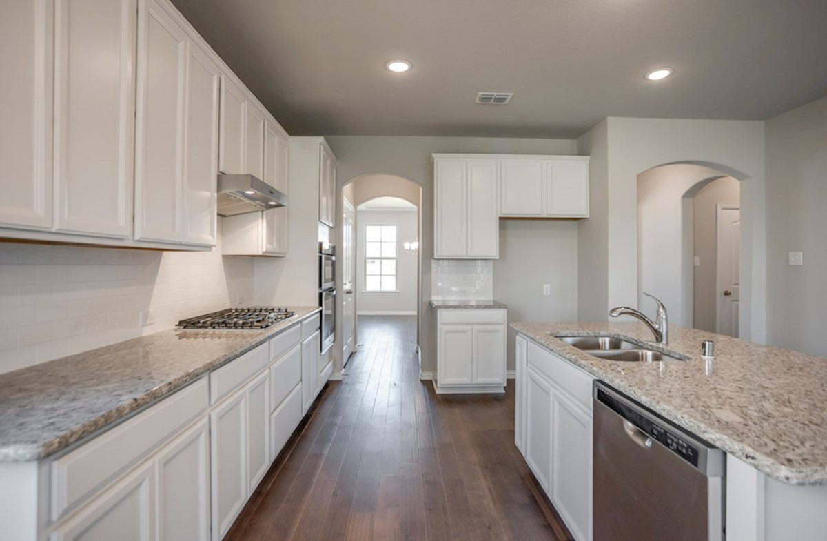 Prescott quick move-in Prescott kitchen with white cabinets