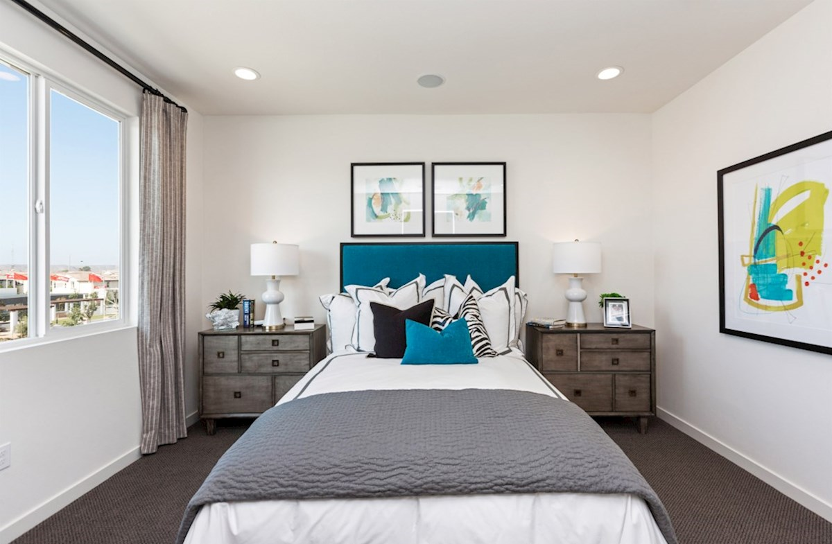Orchid quick move-in relax in the bright, spacious master bedroom