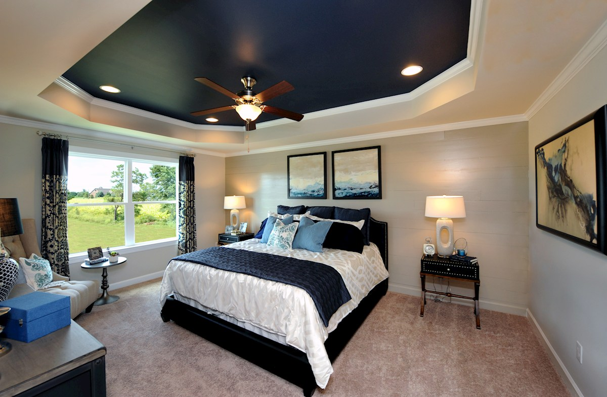 Weaver's Pond Bradley Master bedroom